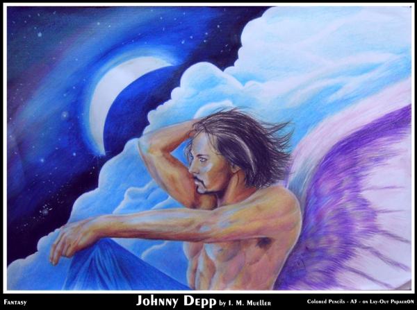 Johnny Depp by immueller